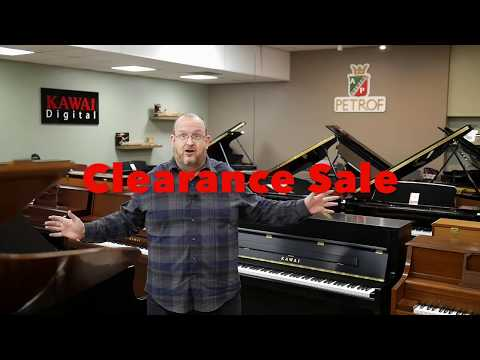 Piano Clearance Sale - April 2018 California Keyboards