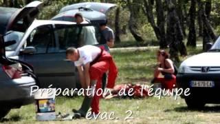Barnum spéléo secours au gouffre du Petit St Cassien 7 et 8 mai 2011.wmv