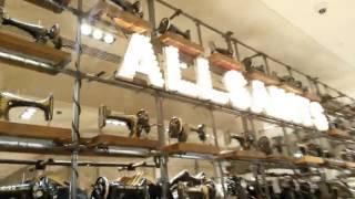 Allsaints, световые буквы, мигают, �...(Allsaints, световые буквы, мигают, винтаж, posm, швейная машинка, оформление торговой точки, красиво, тц цветной..., 2013-11-23T18:15:39.000Z)