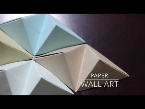 DIY - Origami Wall Art