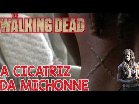 A Cicatriz da Michonne - The Walking Dead 9 Temporada TWD