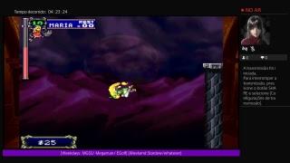 Castlevania SOTN gameplay da noite