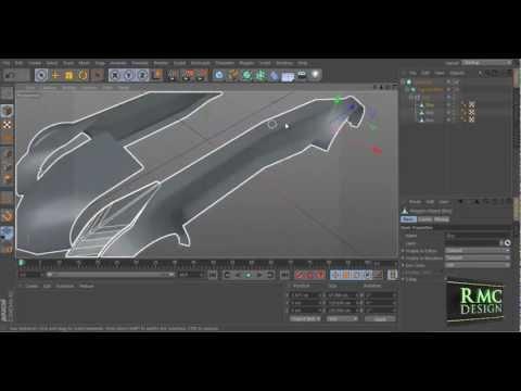 Car Body Designer - Cinema 4D