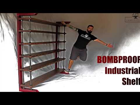 Bombproof Industrial shelf | DIY