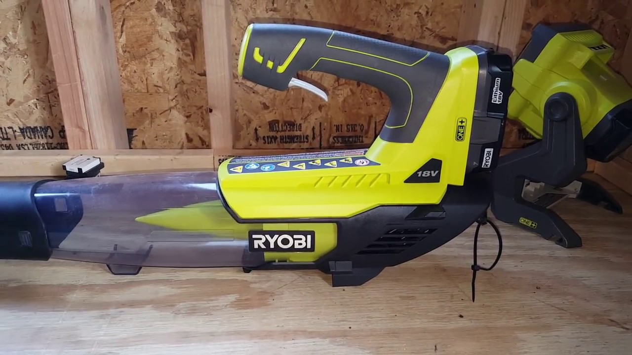 jet leaf blower 18v cordless