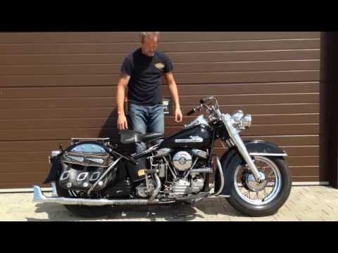 Harley Davidson Hydra Glide Panhead 1955 Year !!!