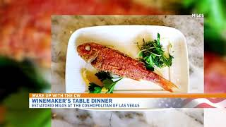Celebrate National Wine Day with Winemaker's Table Dinner at Cosmopolitan