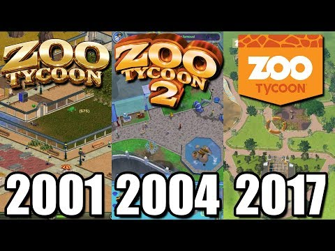 Evolution Of Zoo Tycoon 2001-2017 - What Happened To Zoo Tycoon?