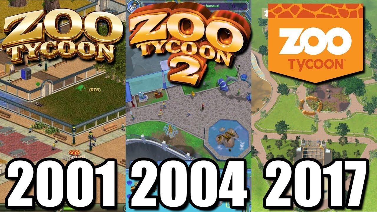 Evolution Of Zoo Tycoon 2001 2017 What Happened To Zoo Tycoon Youtube