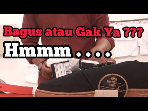 Unboxing Geoff Max Black Gum + Sandal 350.000 + Ongkir 25.000