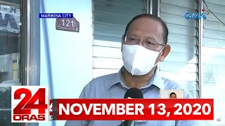 24 Oras Express: November 13, 2020 [HD]
