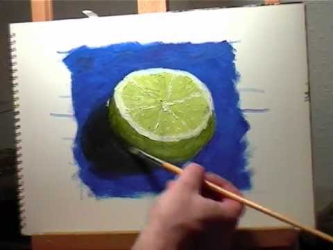 Oil painting lesson 2 how to paint a simple still life for How to make a good painting