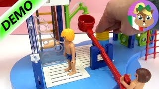 Parco acquatico di Playmobil Summer Fun in italiano - Divertimento nel parco acquatico - Demo