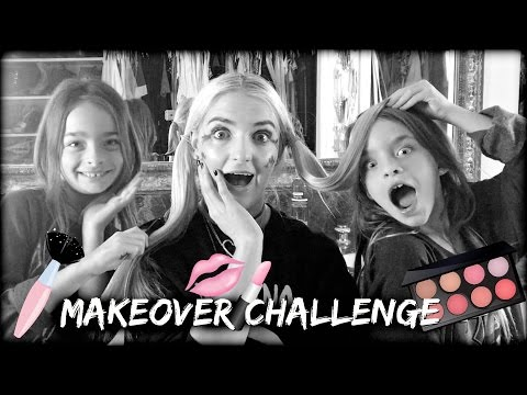 8 YEAR OLD's GIVE ME A MAKEOVER!   Rydel Lynch