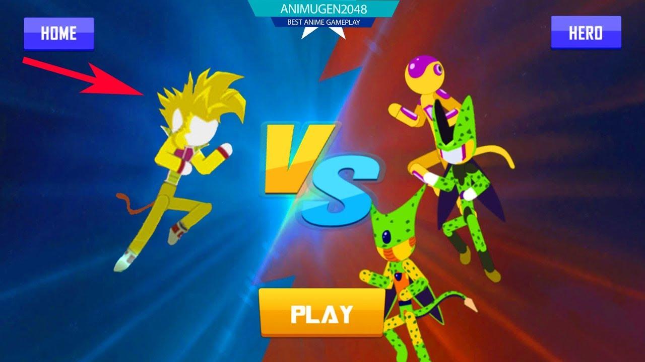 💛 DOWNLOAD NEW Stick Z Super Dragon Fight APK#4 💛 Unlock VEZITA SSJ  GOLDEN | Best Games Stick #FHD