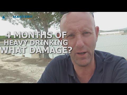 4 Month of Heavy Binge Drinking  Damage Assessment