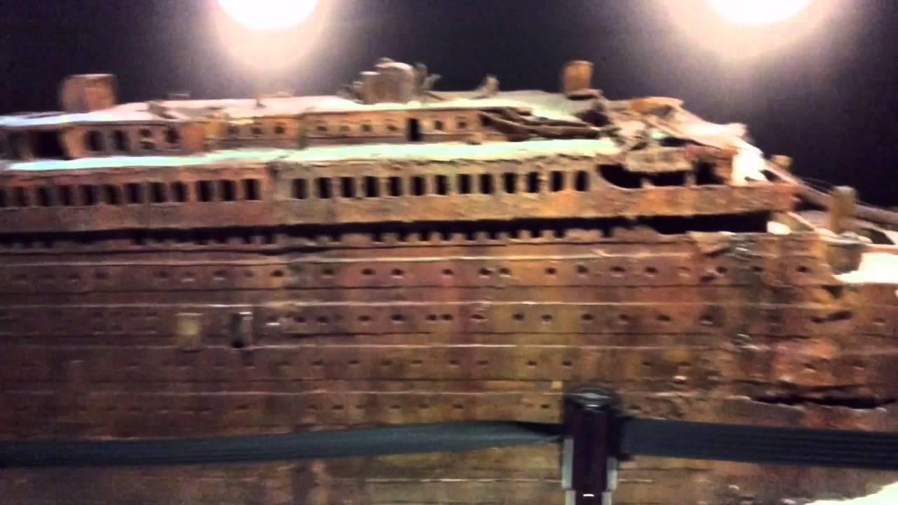 Titanic Exhibit - YouTube