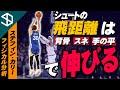 【NBA ステフィン・カリー】スネと背骨と手の平でシュート力が劇的に上がるメカニズムとそのトレーニング方法【YouTube体育大学 フィジカル分析 】