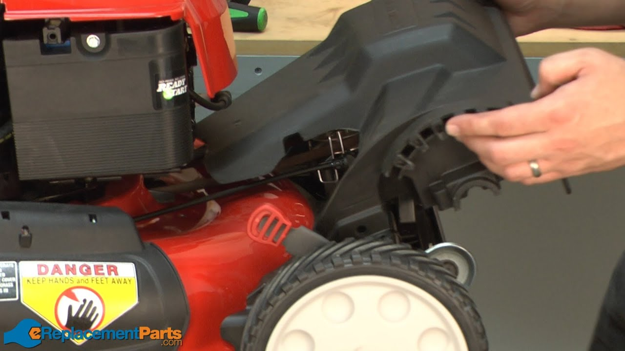 How To Replace The Front Cover On A Troy Bilt Tb280es Lawn