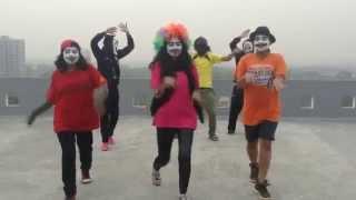 Azis Hop Funny Dance Cover ..............