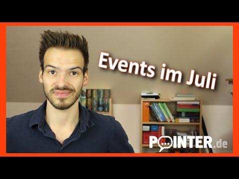 Patrick vloggt - Das erwartet euch im Juli!
