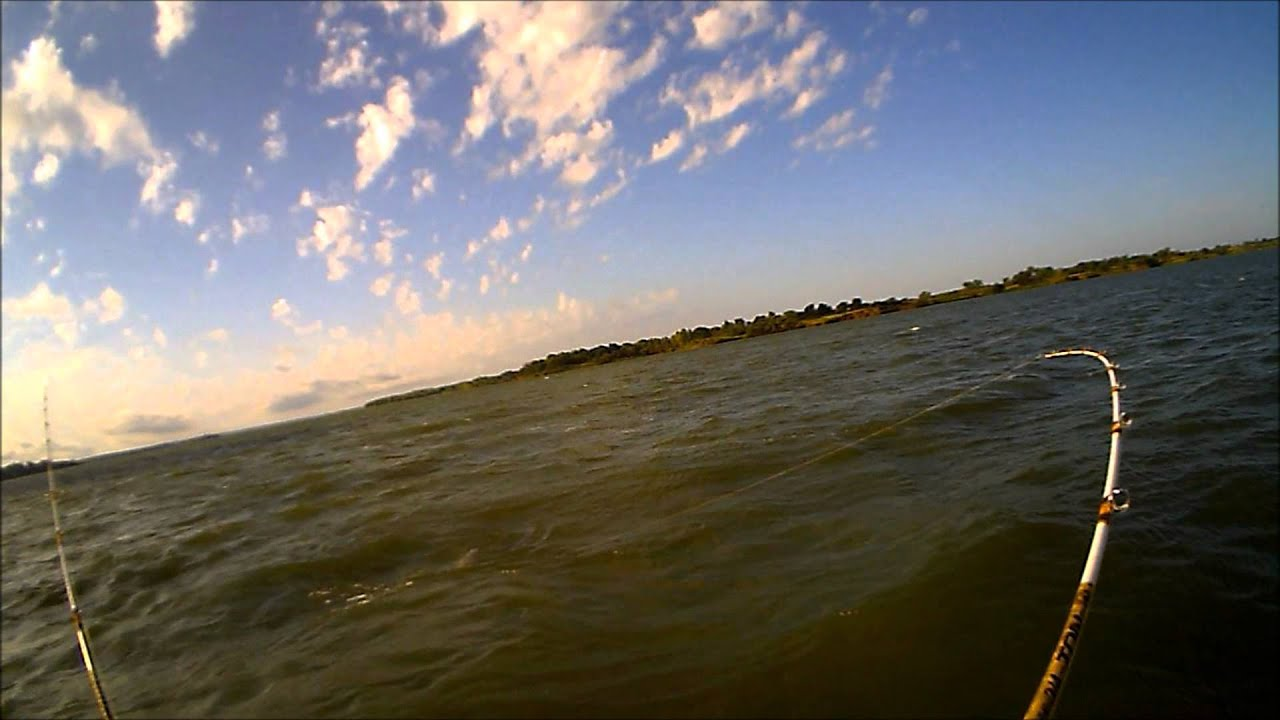 Fishing with primetime catfishing milford lake ks youtube for Milford lake fishing report