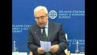 Dr. Fatih Birol, Chief Economist, International Energy Agency (IEA)