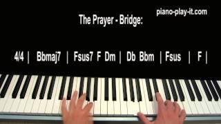Celine Dion The Prayer Josh  Groben