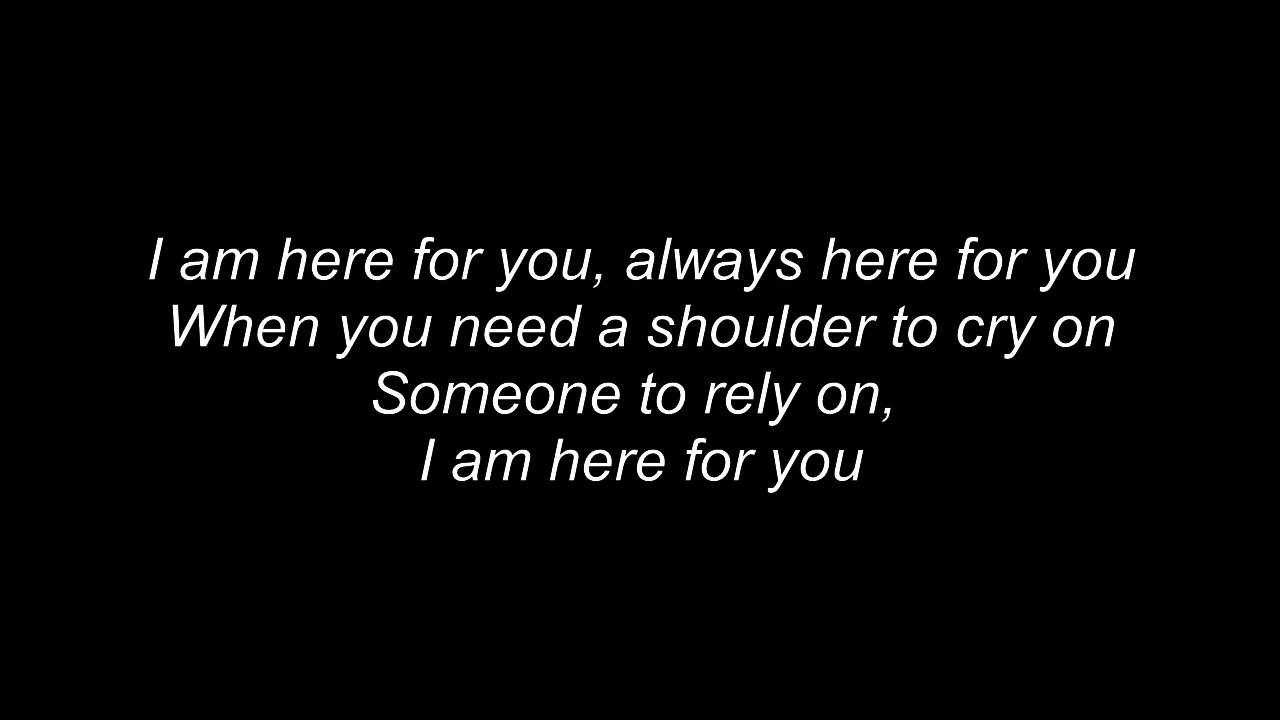 Here For You Firehouse Lyrics Youtube