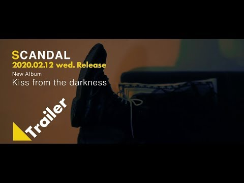 Scandal New Album「kiss From The Darkness」- Trailer