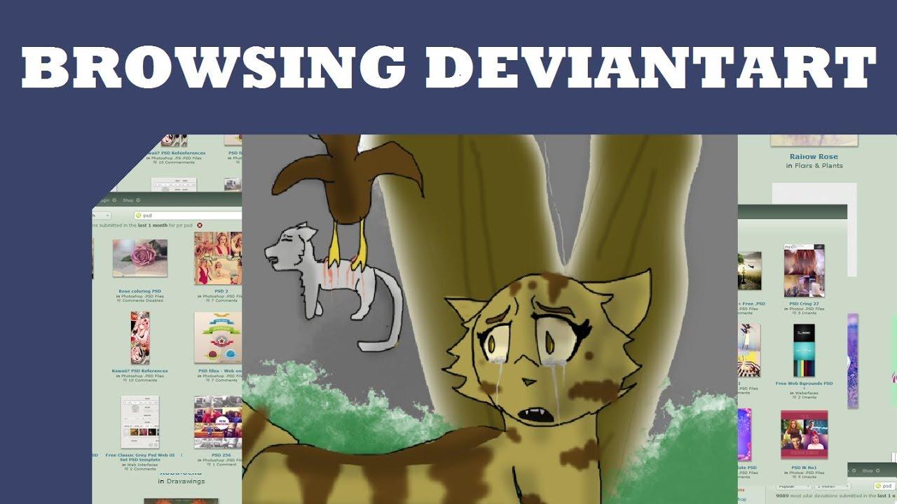 Browsing Deviantart: Warriors Fanart