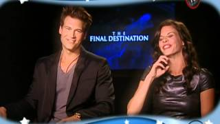 Bobby Campo & Shantel Vansanten on The Final Destination