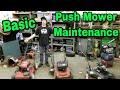 Taryl's Basic Pushmower Maintenance Video