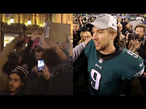 Download Youtube: Eagles Fans HIJACK Vikings