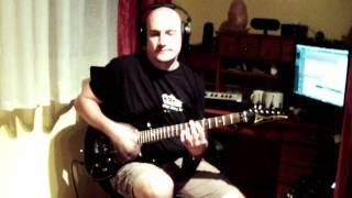 Paul Kalkbrenner - Sky and Sand - guitar cover