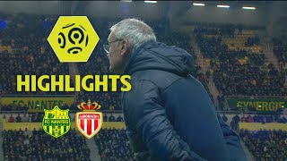 FC Nantes - AS Monaco (1-0) - Highlights - (FCN - ASM) / 2017-18