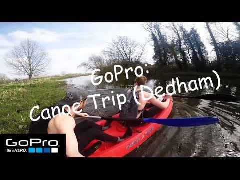 GoPro Kayak/Canoeing Trip - River Stour, Dedham, Essex