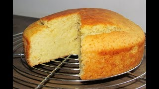Eggless Vanilla cake, Eggless sponge cake, Cake without eggs, eggless cake