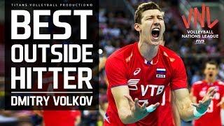 DMITRY VOLKOV Best Outside Hitter VNL 2018