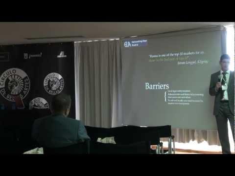 ELIA Networking Days Madrid. Presentation by Konstantin Dranch