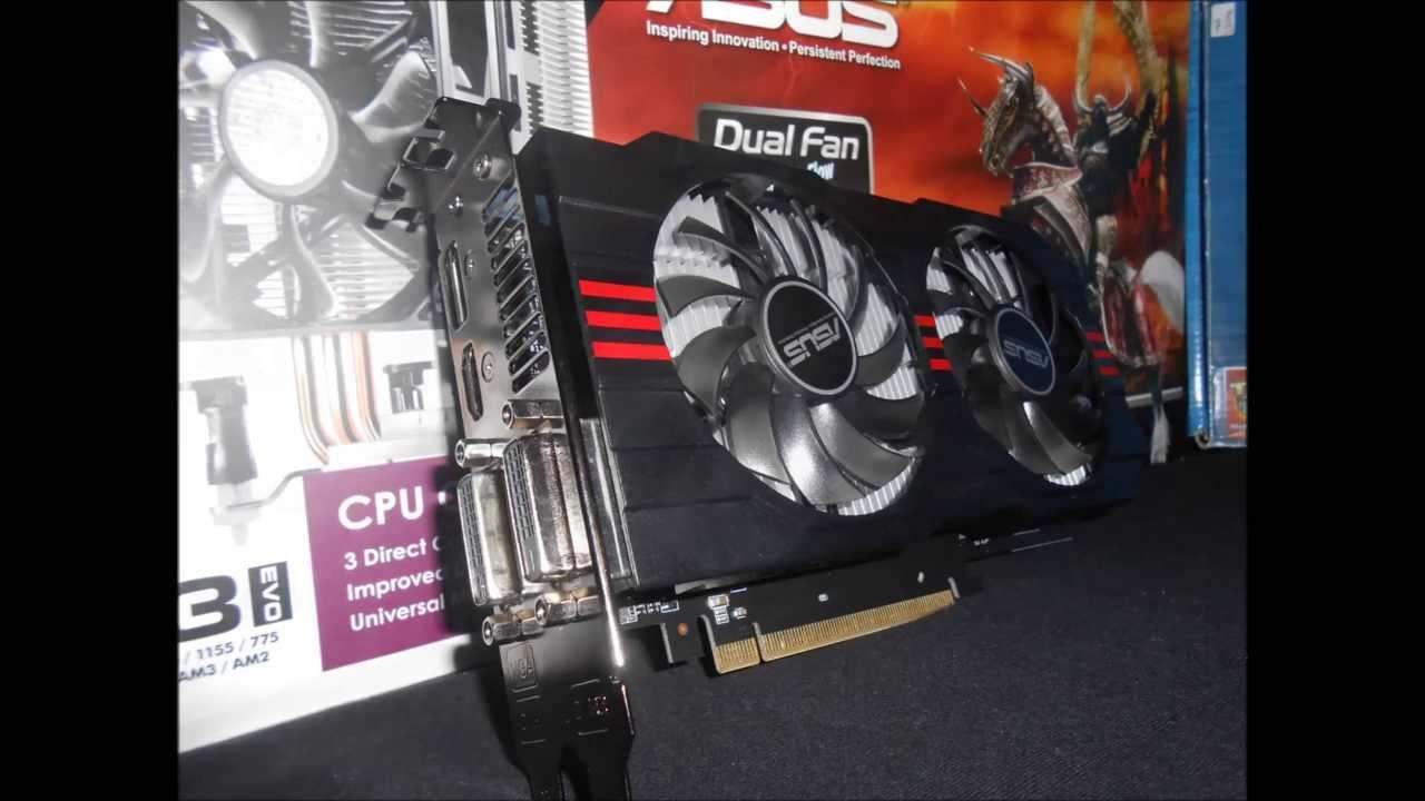 Asus Radeon HD 7770 2gb Review - YouTube