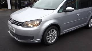 USED VOLKSWAGEN TOURAN 1.6 SE TDI BLUEMOTION TECHNOLOGY 5DR 103 BH