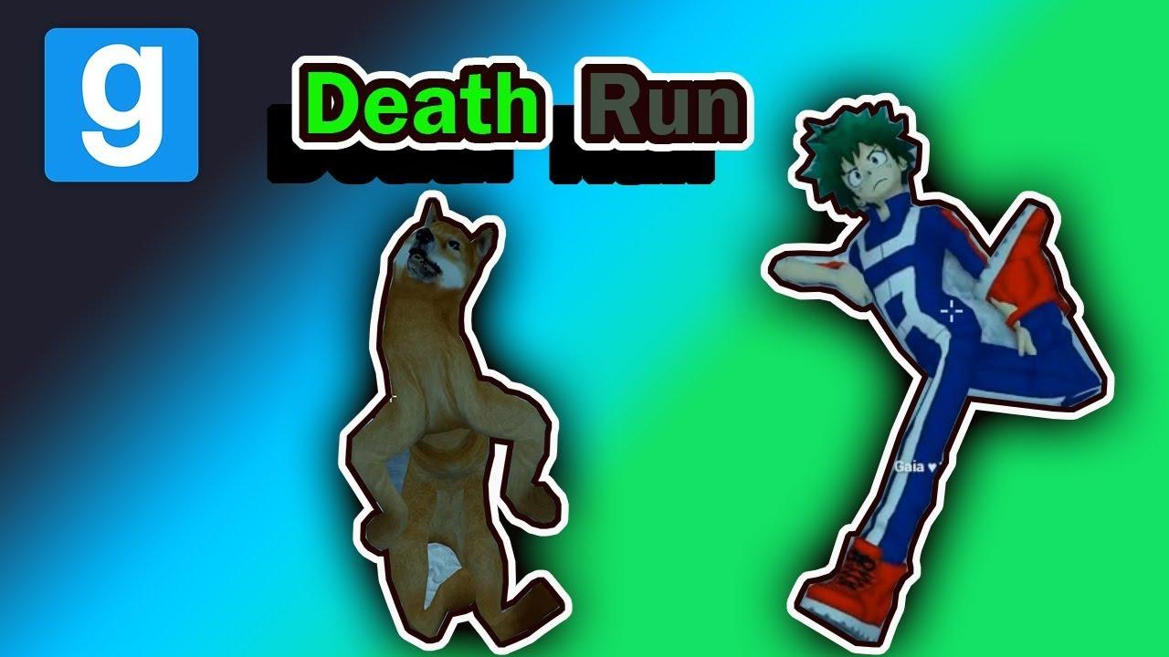 Gmod Death Run - Bunny hop Vape, Creppy Doggo Ragdoll