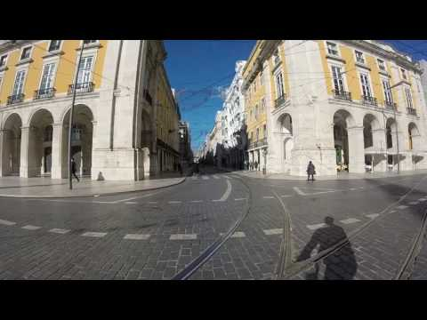 Biking in Lisbon
