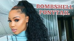 Sleek BOMBSHELL PONYTAIL USING BUNDLES