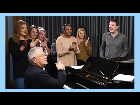 Beauty & The Beast 2017  Singing With Alan Menken