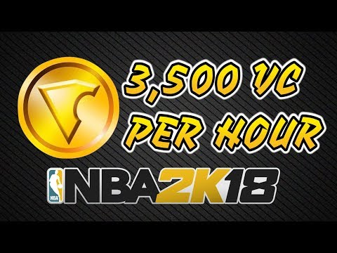Best & Easiest Way To Earn VC In NBA 2K18