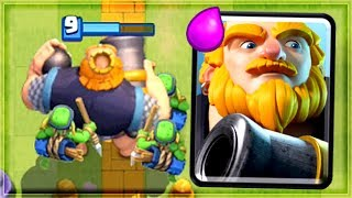 Clash Royale - ROYAL GIANT IS EVERYWHERE! New Deck