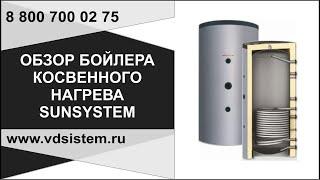 Бойлер косвенного нагрева Sansystem 150 л., обзор конструкции, подключений от www.vdboiler.ru(, 2013-06-15T17:25:04.000Z)