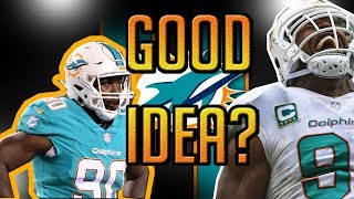 WHY DID THE MIAMI DOLPHINS NEED ALL THOSE D LINEMAN?! I HAVE THE ANSWERS! IS THIS A GOOD IDEA?
